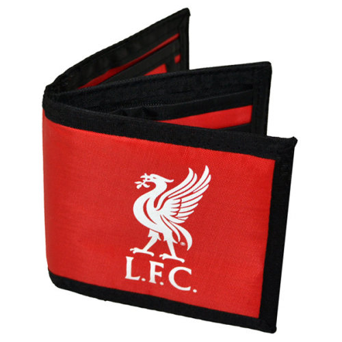 Liverpool Fc Football Crest Nylon Money Wallet, Red - Canvas Wallet L Anfield -  liverpool canvas wallet red lfc anfield merseyside reds card holder