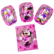 Wooden Puzzle Minnie Mouse 4 Puzzles - Nursery Pre-School Toddler