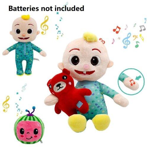 Music Doll Cocomelon Melon Baby Cartoon Plush Toy