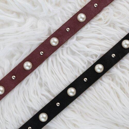 Pearl Grommet Belt