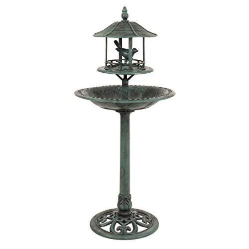 Kingfisher BB01 Ormanental Bird Bath & Table