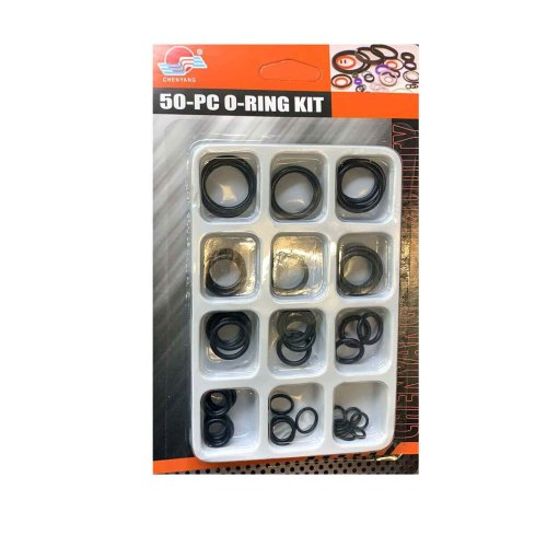 50PC O RING SET Assorted O-Ring Washer Kit Pack Rubber O Ring Seals Plumbing Tap