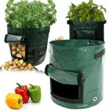 ReUsable Potato Bags Tomato Veg Durable Balcony Patio Planters Grow Bag 3-10Gallon
