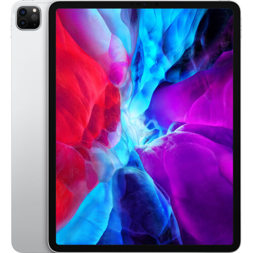 """Apple 12.9"""" iPad Pro (Early 2020, 256GB, Wi-Fi Only, Silver)"""