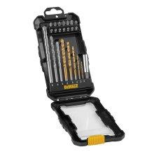Dewalt Dt71567-Qz Drill and Screwdriver Bit Set 16 Piece, Black