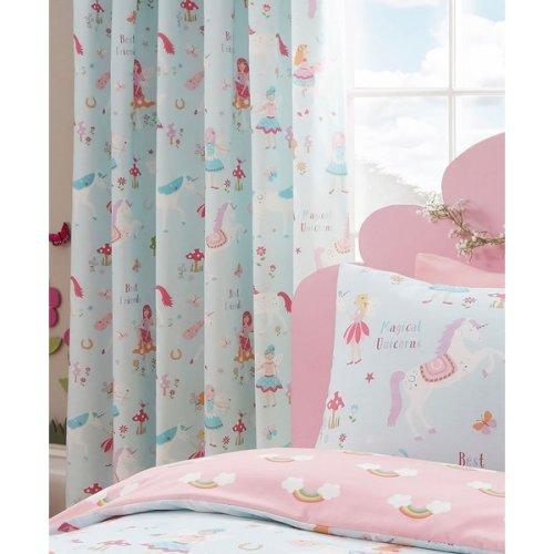 Unicorns and Rainbows Curtains 54s