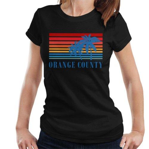 Orange County Retro 70s Sunset Women's T-Shirt