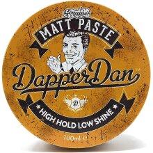 Dapper Dan Matt Paste Hair Styling Product For Men 100ml