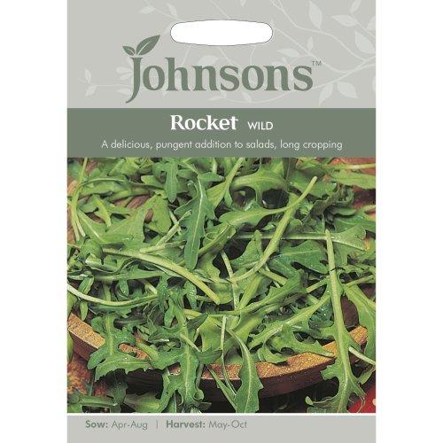 Johnsons Seeds - Pictorial Pack - Vegetable - Rocket Wild - 750 Seeds