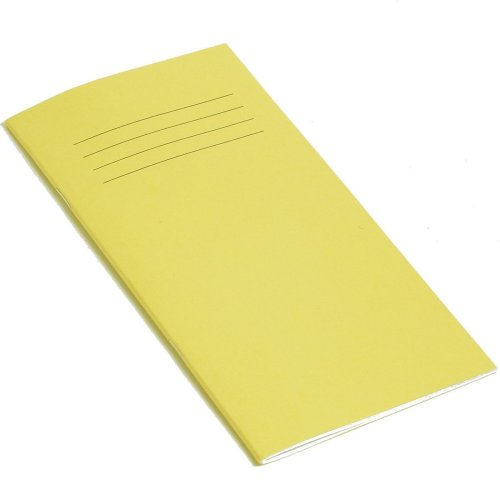 RHINO 200 x 100 mm 32 Page Notebook - Yellow (Pack of 10)