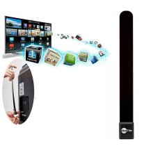 Mini Clear TV Key HDTV HD TV Digital Indoor Antenna Ditch Cable