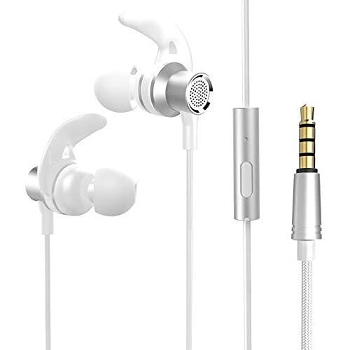 OnePlus 7 Pro White 3.5mm Jack Wired In-Earphone with Built-in Mic & Volume Controls