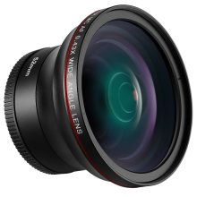 Neewer 52MM 0.43X HD Wide Angle Lens with Macro Close-Up Portion Lens No Distortion Digital High Definition for Nikon D7100 D7000 D5200 D5100 D5000...