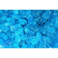 Turquoise Glass Chippings 5-15mm