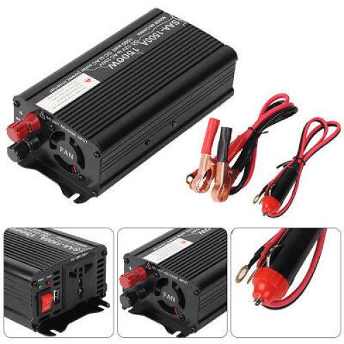 1500W/3000W Power Car Converter power inverter DC 12V to AC 220- 240V