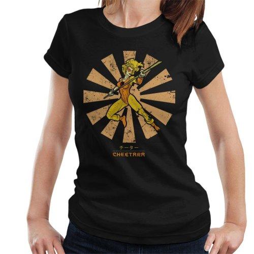 Cheetara Retro Japanese Thundercats Women's T-Shirt