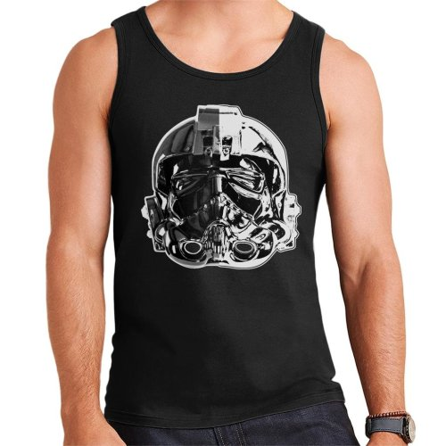 Original Stormtrooper Imperial TIE Pilot Helmet Monochrome Effect Men's Vest
