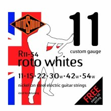 Rotosound Roto Whites 11-54 R11 Electric Guitar Strings
