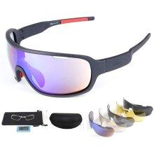 UV400 POC Biker Glasses Sunglasses Polarized Glasses W 5 Replace Lens