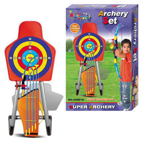 Kids Large Bow And Arrow Set With Arrows Target Toy Archery Shooting
