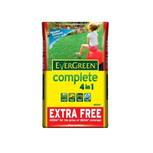 Evergreen Complete 4-In-1 Lawn Treatment - 12.6kg