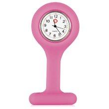 Nurses Pink Gel Silicone Fob Watch