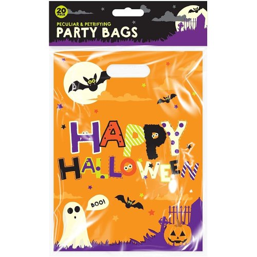 Lizzy Halloween Party Loot Bags - 20 Pack - Kids Halloween Accessories