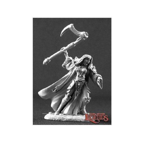 Reaper Dark Heaven Legends 03222 Elori Ebonscythe Cleric