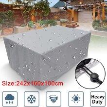 Heavy Duty Waterproof Rattan Cube Cover Outdoor Garden Furniture Rain