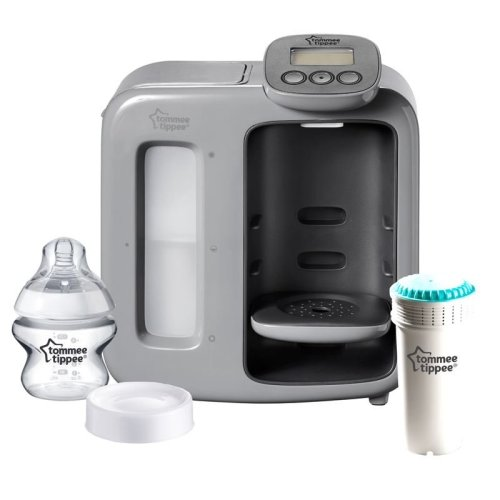 Tommee Tippee Perfect Prep Day & Night, Baby Bottle Maker Machine, Grey