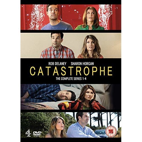 Catastrophe Series 1 to 4 DVD [2019]