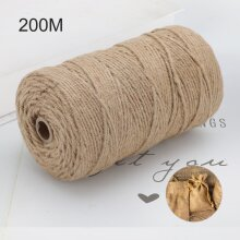 Ply Natural Brown Soft JUTE TWINE Sisal String Rustic Cord Shabby