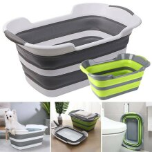 Large Laundry Basket Collapsible Washing Clothes Basket Pop Up Bin Space Saving