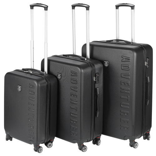 3pc Lightweight Hard Shell Suitcases Set