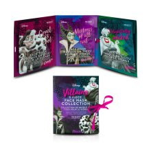 Disney Villains Sheet Masks Set Of 3 Collection