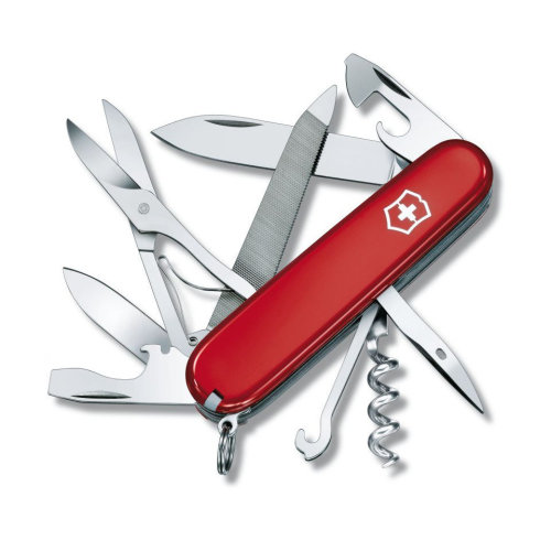 Victorinox MOUNTAINEER Officers Swiss army knife - 18 function - genuine Swiss