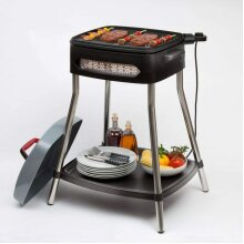 Power Grill Electric Portable BBQ Indoor Outdoor Barbecue Non Stick