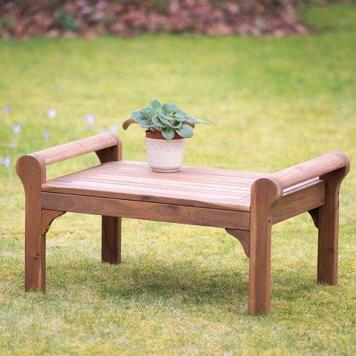 Plant Theatre Lutyens Hardwood Coffee Table