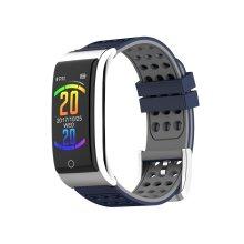 E08 ECG EKG Blood Pressure Monitor Fitness Tracker 3D Color UI IP67 Long Standby Smart Watch