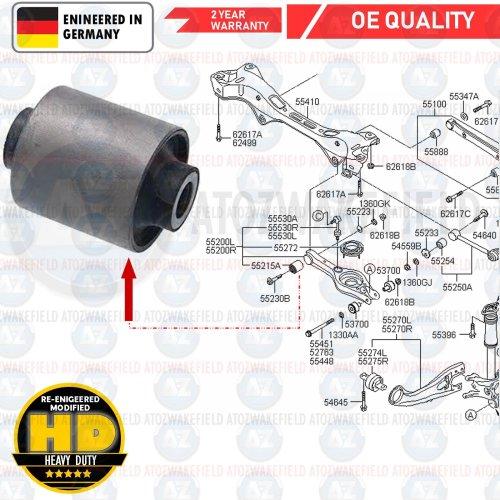 FOR HYUNDAI ix35 i40 SANTA FE SONATA REAR LOWER SUSPENSION WISHBONE CONTROL ARM