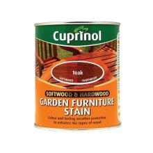 Cuprinol 5158524 Softwood & Hardwood Garden Furniture Stain Teak 750ml