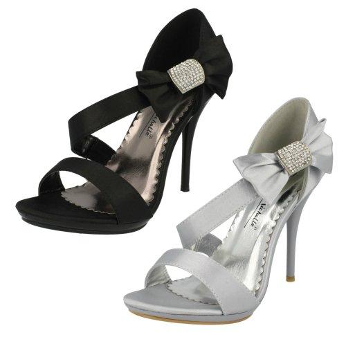 Ladies Anne Michelle Peep Toe Heeled Sandals
