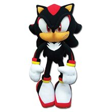 "Sonic The Hedgehog New_8967 great Eastern gE-8967 - Shadow Plush, 12"", Multicolor"