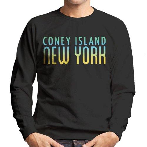 Coney Island New York Men's Sweatshirt