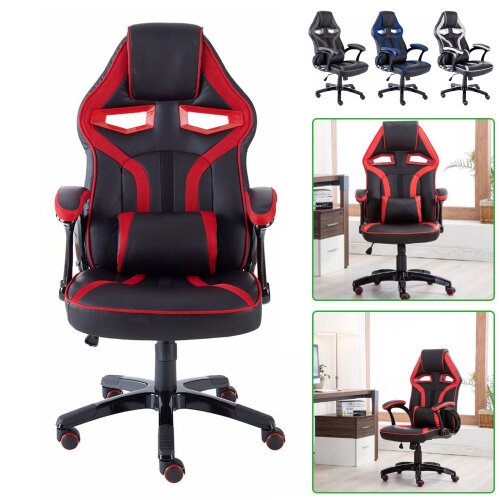 Executive PU Leather Sport Racing Car Gaming Office Chair
