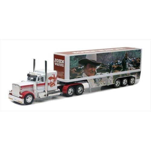 New Ray 10443 John Wayne Truck Style 3 Long Hauler Toy Truck, Pack of 6