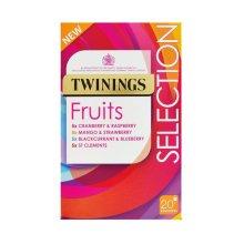 Twinings Fruit Selection | 20 Bags x 4