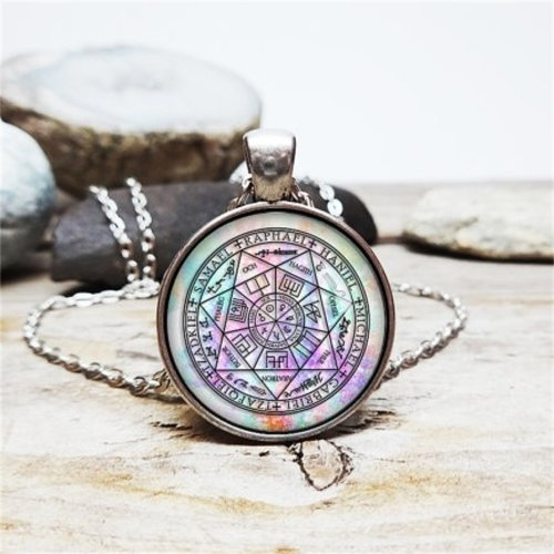 Archangels Protection Talisman Necklace Angel Witchcraft Magic