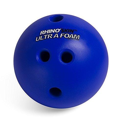 Champion Sports Foam Bowling Ball 2 5 lb Rhino Skin Soft Balls for Training Kids Games Blue