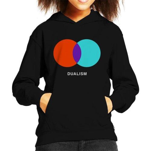 Dualism Philosophy Symbol Kid's Hooded Sweatshirt